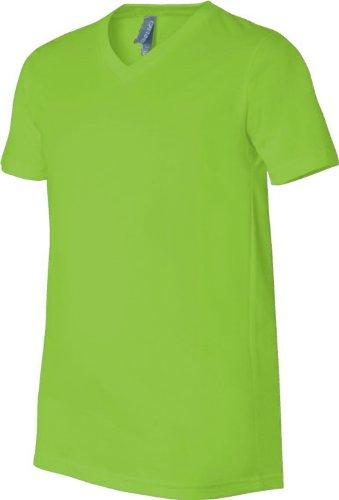 Bella - Camiseta - Asimétrico - para hombre verde - Verde neon