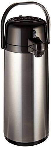 (Service Ideas ECA22S Eco-Air Airpot with Pump, Glass Lined, 2.2L)