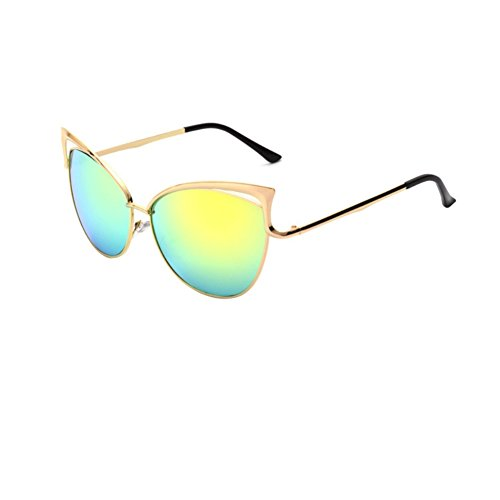 Authentic 70s Guy Costumes For Men (PPSTAR SG700010C2 Fashion Resin Lens Metal Sunglasses,Metal Frames Non-Polarizer)