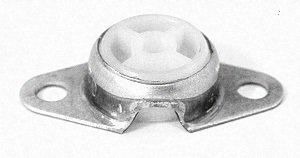 Side Flange (Miniature Side Flange Mounted Bearing, 2 Bolt, 3/8