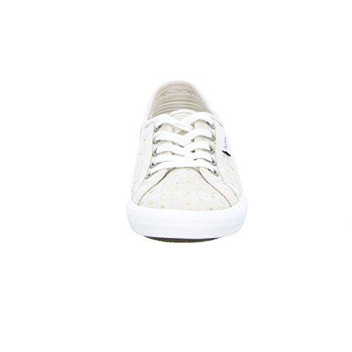 Pepe Jeans Pls30502-892 - Zapatos de cordones de tela para mujer Lino