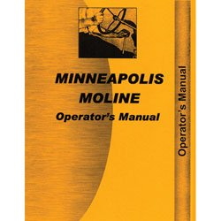 604 Manual - Operator's Manual - MM-O-M602, 604, Minneapolis Moline