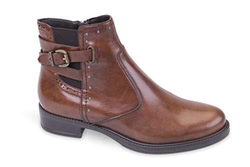 4760 Scarpe Boots Cognac Stivaletti Valleverde Donna Women s q8Hwx1z ... d03aa5102cd
