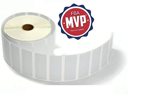 FBAMVP 4000 Self Adhesive Thermal Labels, 1x2.6-Inch, 2 Packs
