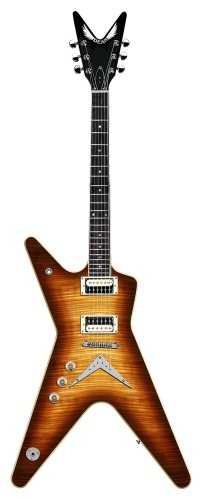 Dean 79 Series ML Solid Body Left Handed Electric Guitar Trans Brazilburst