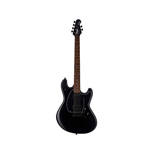 Sterling By MusicMan 6 String Solid-Body Electric Guitar, Right, Stealth Black (SR30-SBK-R1)