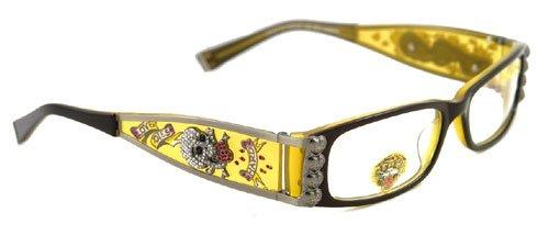 c6b3ea7b5367 Ed Hardy EHO712 Eyeglasses (SKAM) SKY AMBER