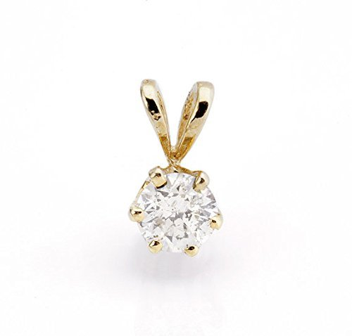 0.4 Ct Yellow Diamond - 8