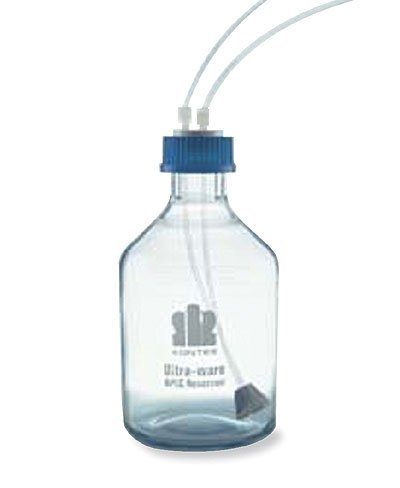 Ultra-Ware 953930-1002 HPLC Reservoir System, Bottle/Cap/Sparge/Tubing; 1.0 Liter by Ultra-Ware