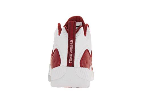 Nike Jumpman Team-ii-basketball-schuh Rot / Weiß / Schwarz (gym Rood / Gym Rood / Wit / Zwart)