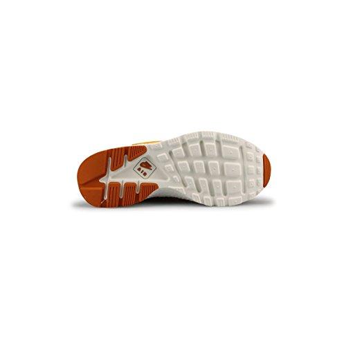 Nike Women Huarache Run Ultra Prm Running Sneakers 859511 Scarpe Da Ginnastica (us 6.5, Gold Leaf Sunset Sail 700)
