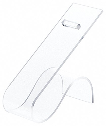 Plymor Brand Clear Acrylic Shoe Display Rest, 2