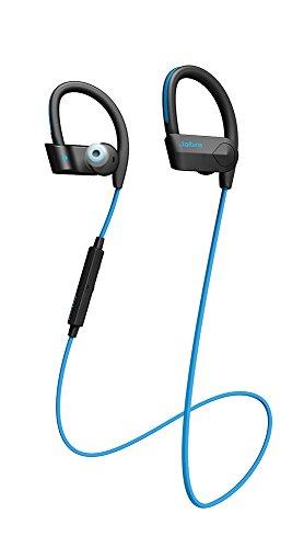 Jabra Sport Pace Wireless In-Ear-Sport-Kopfhörer (Stereo-Headset, Bluetooth 4.0, NFC, Freisprechfunktion) blau