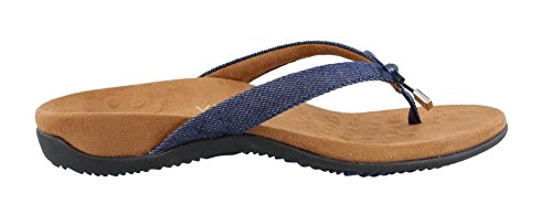 Vionic Womens Bella Denim Textile Sandals 42 EU