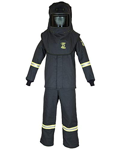TCG25 Series Arc Flash Hood, Coat, & Bib Suit Set
