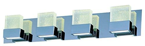 ET2 Lighting E22754-89PC Fizz III 8-Light LED Vanity
