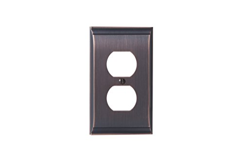 Oil Rubbed Wall Plate - 6