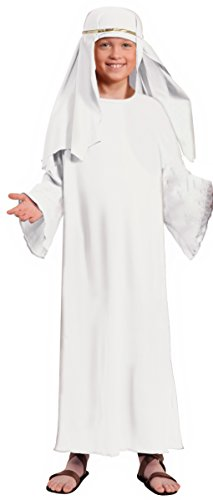 Forum Child's Value Wise Man Costume, White, (Child Wise Man Costumes)