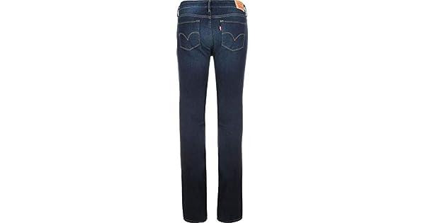 3ebeababa9a Calça Jeans Levis Feminina 715 Bootcut Azul Escuro  Amazon.com.br  Amazon  Moda