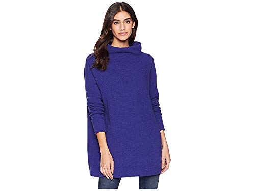 Austin Ottoman - Free People Women's Ottoman Slouchy Tunic, Blue, X-Small
