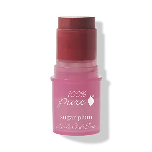 (100% Pure Sugar Plum Sheer Lip & Cheek Tint)