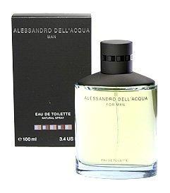 Alessandro Dell Acqua Dell Acqua Man By Alessandro Dell Acqua Eau-de-toilette Spray, 3.4-Ounce
