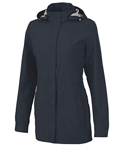Charles River Apparel Women's Logan Jacket, Graphite Navy, XXL