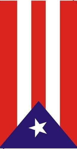 Puerto Rico Flag Beach Towel Isla Del Encanto
