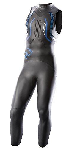 2XU Men's A:1 Active Sleeveless Wetsuit, Small/Medium, Black/Cobalt Blue by 2XU (Image #1)