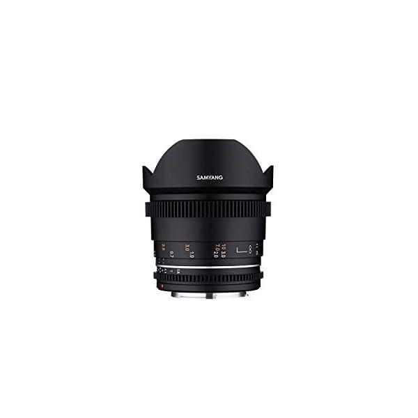 RetinaPix Samyang Enhanced Cine Lens, VDSLR 14MM T3.1 MK2, for Mount MFT Cameras