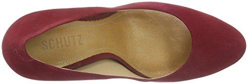 SchutzScarpin - Zapatos de Tacón Mujer Rojo