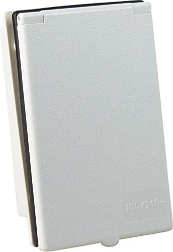 31dwbbpq%2BnS as - Schwabe CEE-Caravan-Einspeisungsstecker 230 V / 16 A / 3-polig – Outdoor Anbau-Stecker mit Klappdeckel – 3-poliger…