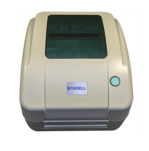 Bordell Direct Thermal Multi-Function Shipping Label Printer - Beige, Wide Format 4