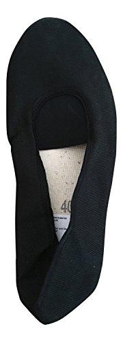 Morgenspruch Eurythmieversand - Zapatillas de gimnasia para mujer Negro - negro
