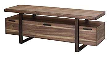 Scott Living Atticus Hazelnut Finish Table Top TV Console