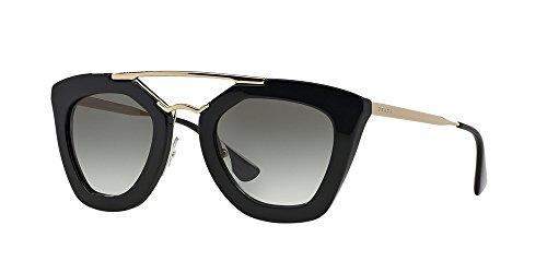 Prada Women's SPR09Q Cinema Sunglasses, Black by Prada