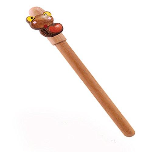 Natural Wood Hanmade Zodiac Animal Ball Point Pen (SNAKE) (Animal Ball Zodiac)