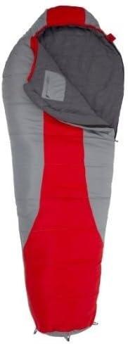 スポーツトラッカー5 F Ultralight Sleepingバッグ、レッド/グレー