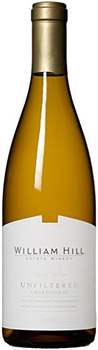 2011 William Hill Estate Unfiltered Chardonnay Amazon Exclusive White Wine 750mL