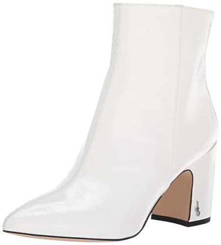Sam Edelman Women's Hilty 2 Fashion Boot Bright White Patent 6 M US