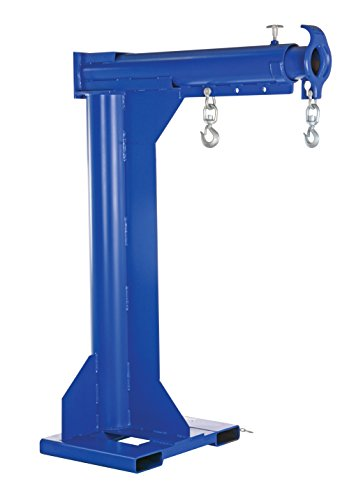 Vestil LM-HRT-6-24 Steel Telescoping High Rise Boom, 6000 lb Capacity, 24