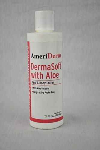 Alimed DermaSoft Hand and Body Lotion with Aloe, Hypoallergenic, 8 oz ()