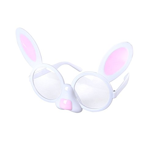 Easter Funny Glasses Novelty Sunglasses Eyewear Props for Kids Adults Easter Fancy Costume Accessories ()