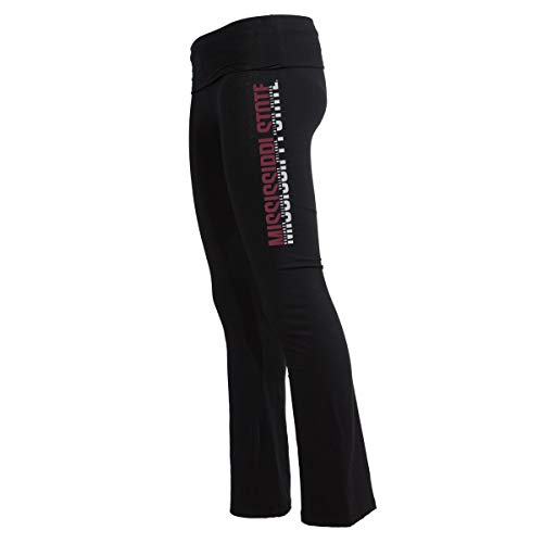 Official NCAA Mississippi State Bulldogs Women's Athlesiure Legging Yoga Pants