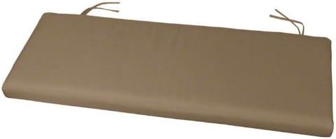 39 x 17 x 2 Sunbrella Bench Cushion Sunbrella Cocoa