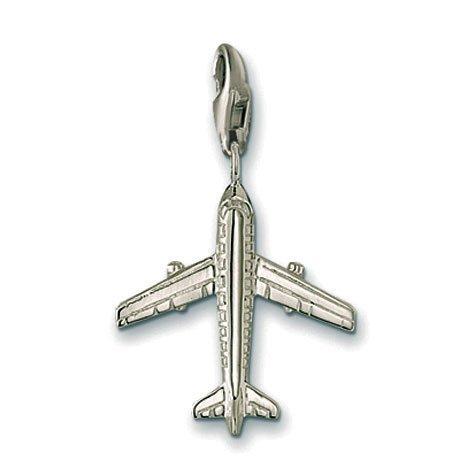 Thomas Sabo Pendant Aeroplane Clasp Style Charms (Jewellery Thomas Sabo)