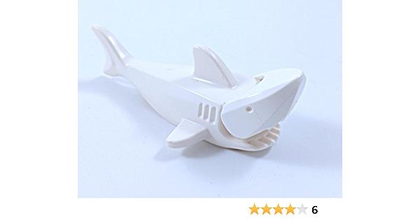 4 Lego Vintage Sharks Lot dark gray water ocean animals pirate