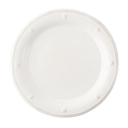 Juliska Dinner Plates White, Set of 4, 11 Inch, Berry & Thread