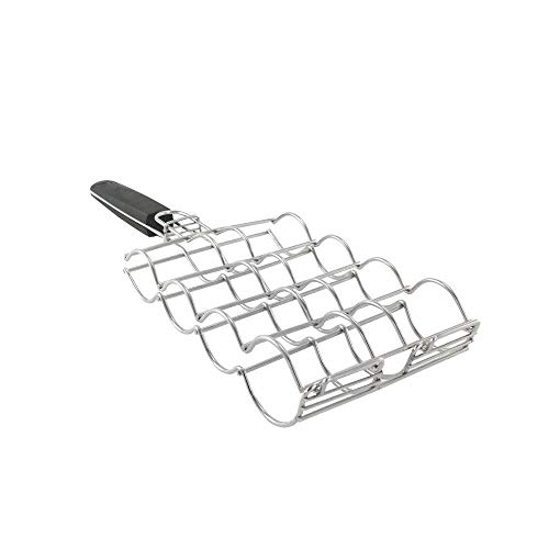 Steven Raichlen Best of Barbecue Stainless Adjustable Corn Grilling Basket - SR8166