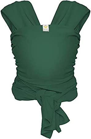 18 kg Bauch- /& H/üfttrage ausgezeichnet geeignet f/ür Neugeborene Onesize bis ca versch /Öko-Tex-Zertifiziert Red ByKay Stretchy Wrap Deluxe dehnbares /& ergonomisches Tragetuch Farben